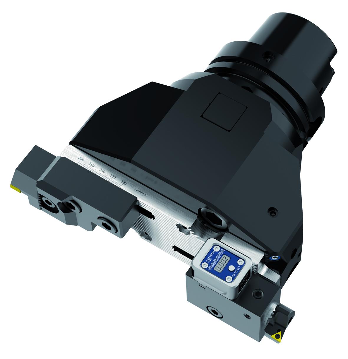 3E Tech für die μ-genaue Verstellwegmessung