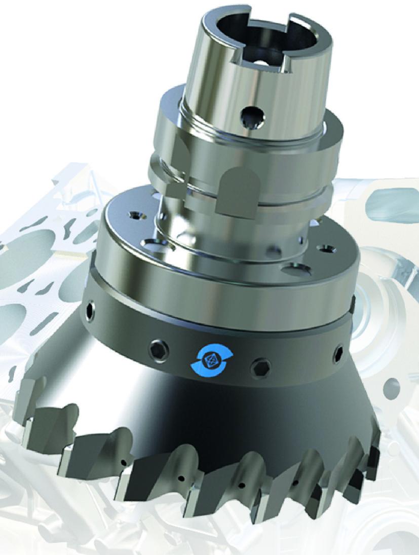 PKD-Monoblock-Fräser »dia-compact« für wirtschaftliche Bearbeitung von Aluminium- und Composite-Bauteilen GFK/CFK