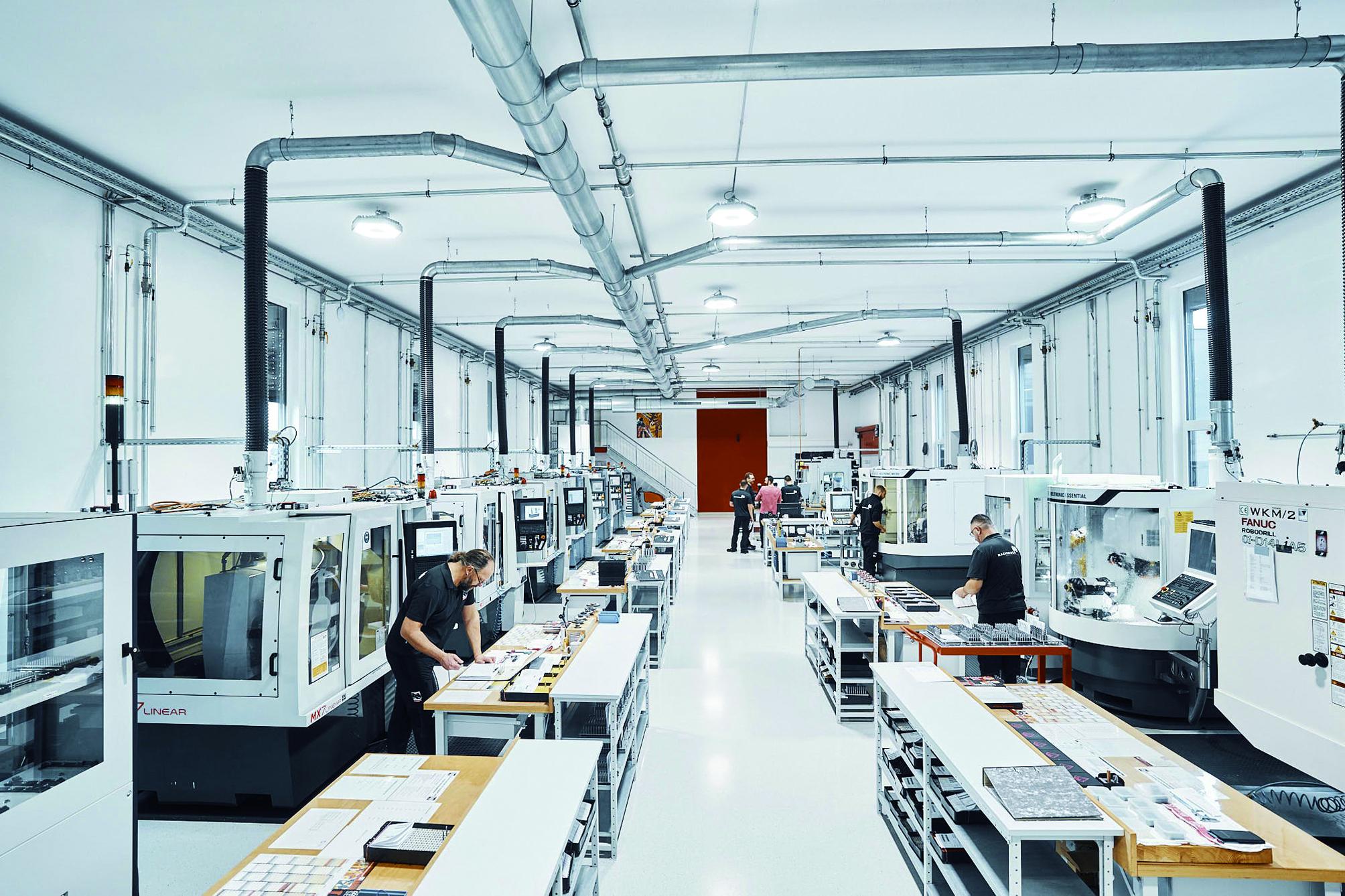 Vom Rohling über den Schliff bis hin zur Beschichtungstechnologie Top-Werkzeuge von Nachreiner dank großer Fertigungstiefe