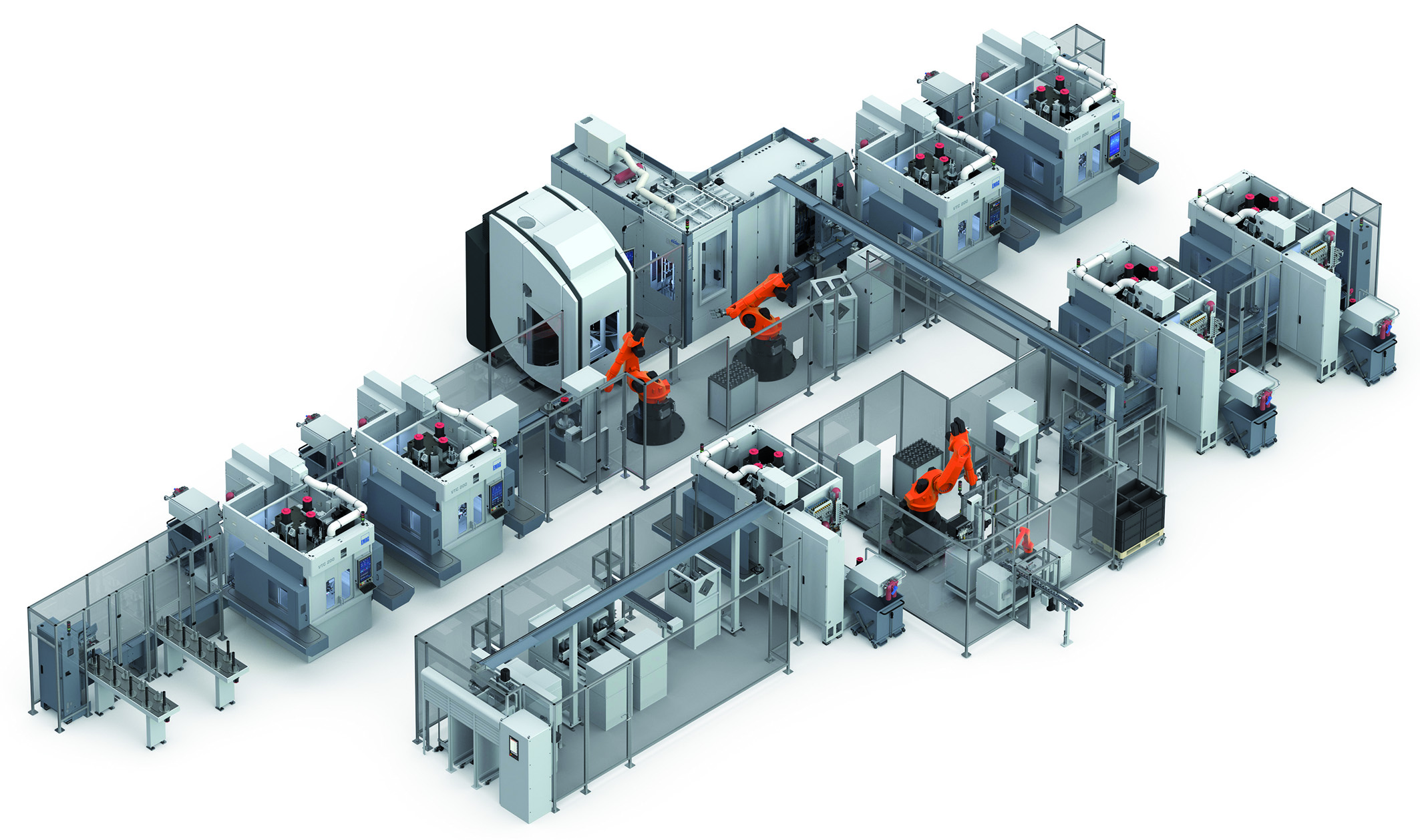 E-Mobility is Coming Production line for rotor shaft manufacturing